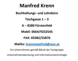 Manfred Krenn Buchhaltungs- und Lohnbüro