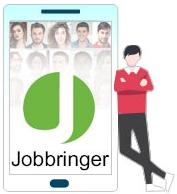 Jobbringer, das Tinder für Jobs
